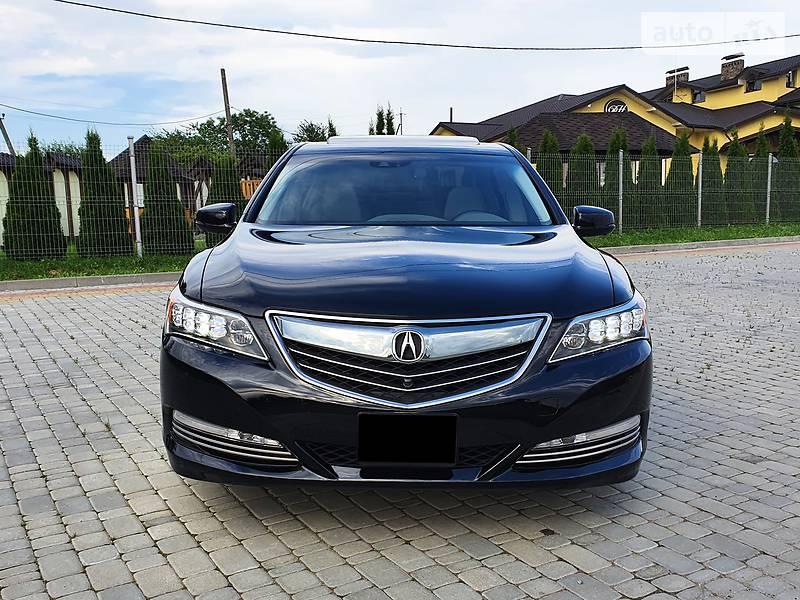 Седан Acura RLX 2015 в Львові
