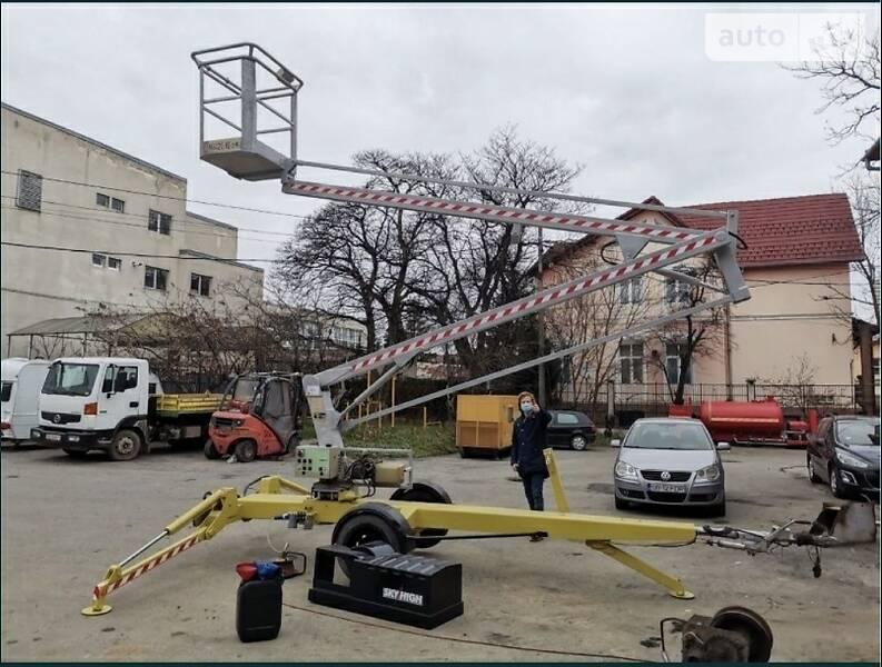 Автовышка Atlas 1140 2002 в Ужгороде
