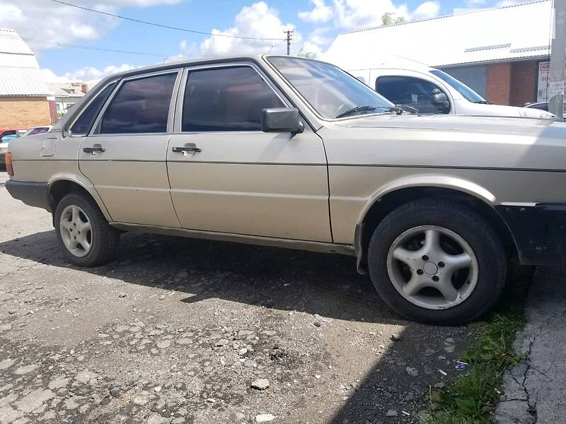 Audi 80 perehodka
