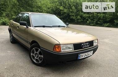 Седан Audi 80 1988 в Хмельницком