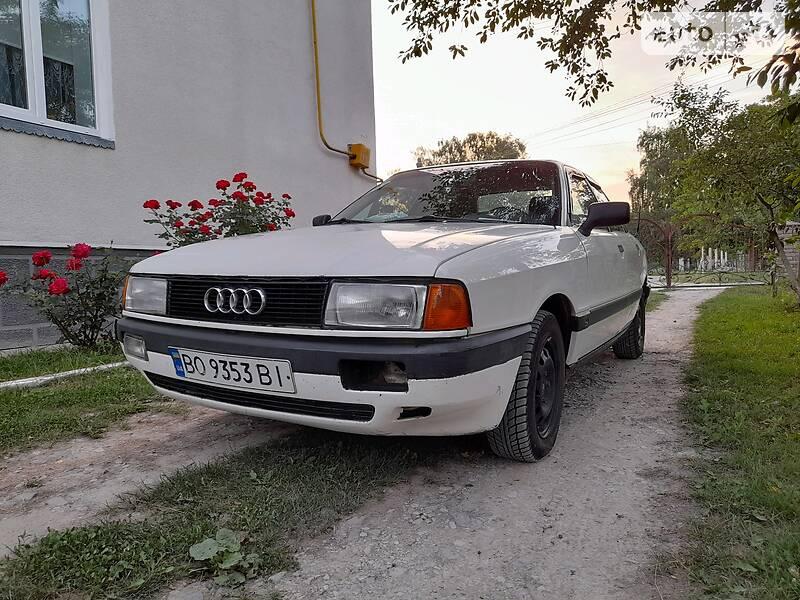 Седан Audi 80 1991 в Чорткові