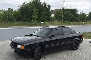 Седан Audi 80 1987 в Дунаевцах