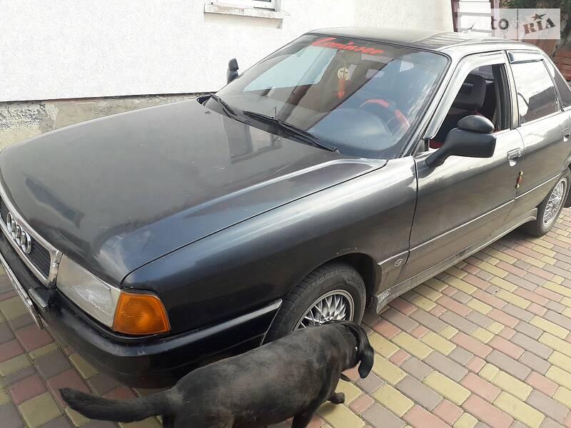 Седан Audi 80 1989 в Ровно
