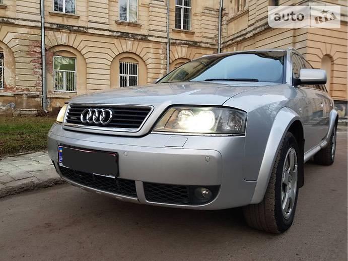 Audi A6 allroad quattro 2004 года
