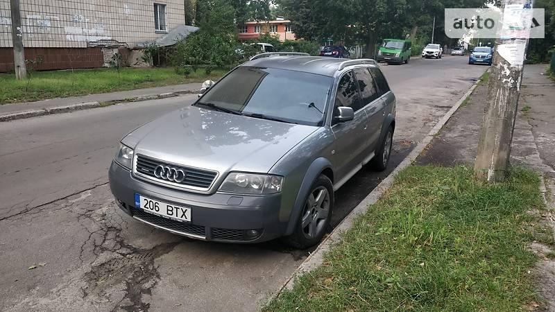 Audi A6 Allroad 2001 года в Киеве