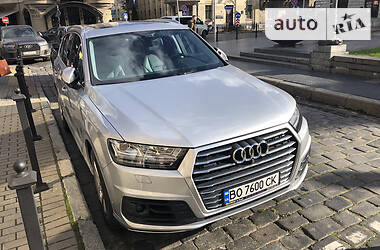 Внедорожник / Кроссовер Audi Q7 2019 в Львове