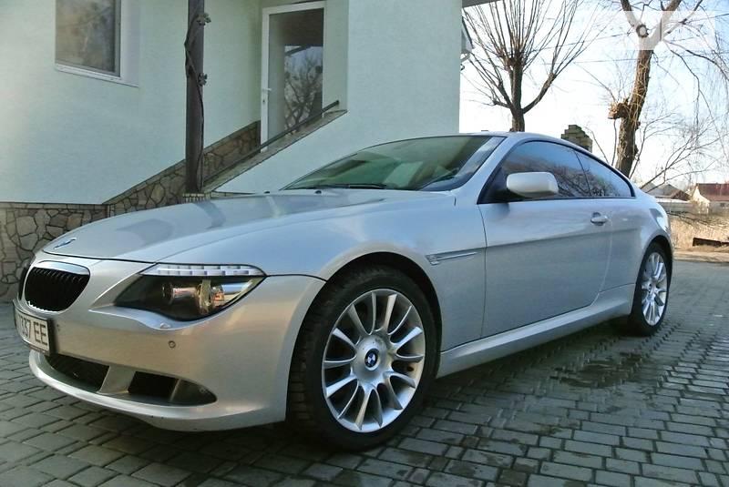 BMW 6 2008 года