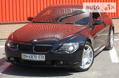 Купе BMW 630 2007 в Одесі