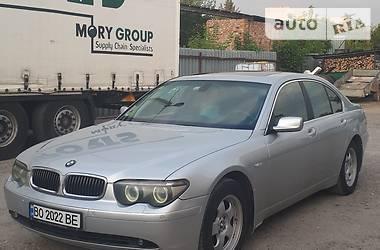 BMW 730 2004 в Гусятине
