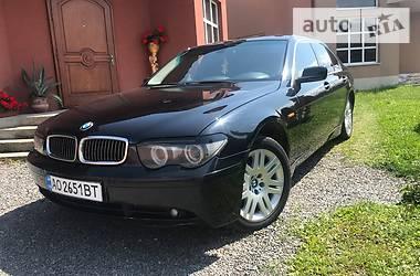 BMW 740 2005 в Ужгороде