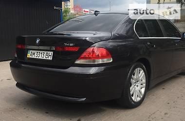 BMW 745 2002 в Житомире