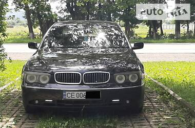 BMW 745 2004 в Черновцах