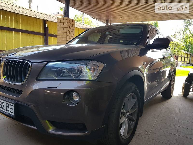 BMW X3 2012 в Днепре