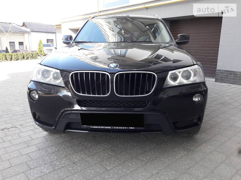BMW X3 2013 в Ивано-Франковске