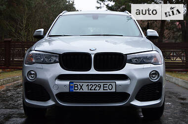 BMW X3 2015 в Нетешине