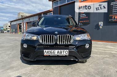 Внедорожник / Кроссовер BMW X3 2015 в Львове