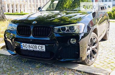 Внедорожник / Кроссовер BMW X3 2016 в Ужгороде