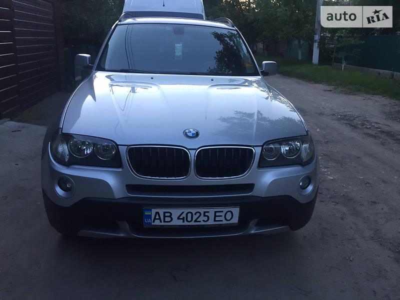 Внедорожник / Кроссовер BMW X3 2007 в Крыжополе
