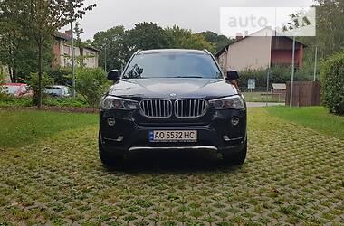 Внедорожник / Кроссовер BMW X3 2014 в Виноградове