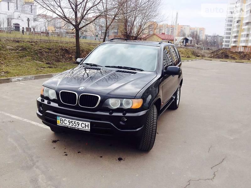 BMW X5 2001 в Львове
