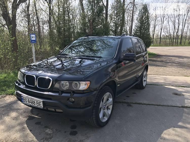 BMW X5 2002 в Залещиках
