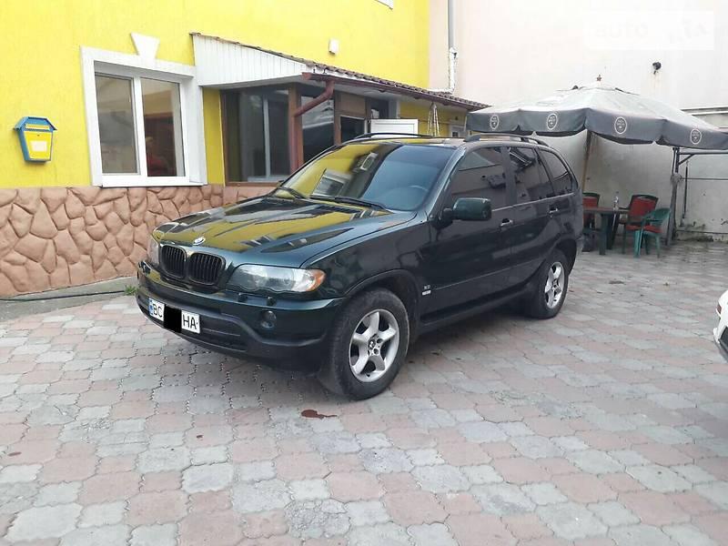 BMW X5 2001 в Черновцах