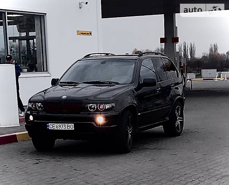Позашляховик / Кросовер BMW X5 2004 в Чернівцях
