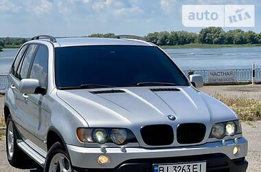 Внедорожник / Кроссовер BMW X5 2003 в Кременчуге