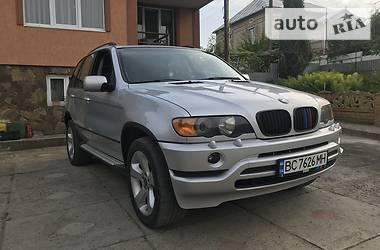 Позашляховик / Кросовер BMW X5 2002 в Львові