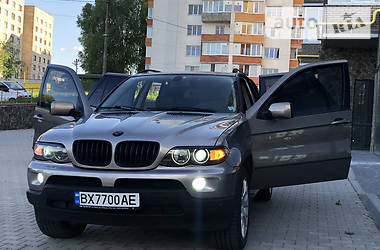 Внедорожник / Кроссовер BMW X5 2004 в Хмельницком