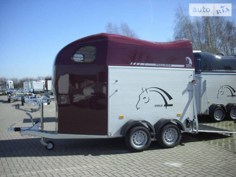 Для перевозки животных - прицеп Bockmann Master 2012 в Черновцах