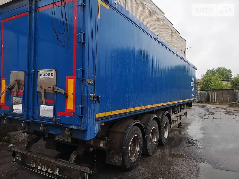 Зерновоз - напівпричіп Bodex KIS3B 2019 в Вінниці