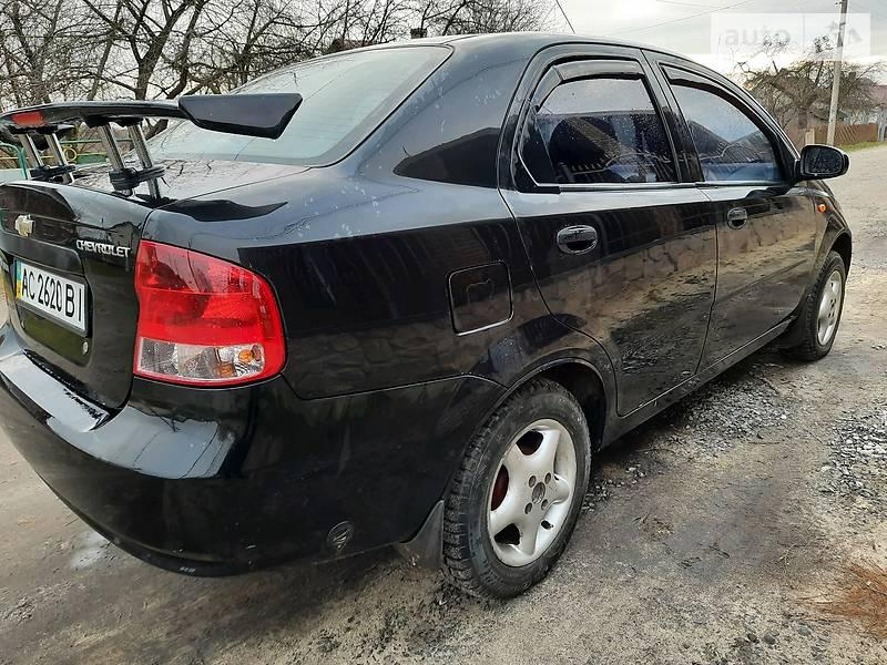 Chevrolet Aveo 2005 в Луцке