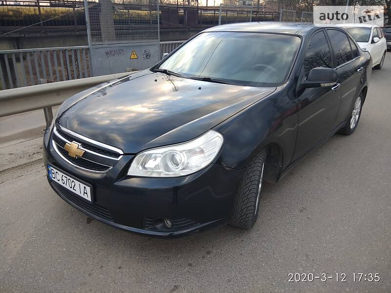 Седан Chevrolet Epica 2009 в Львові