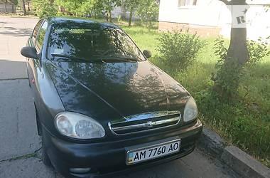Седан Chevrolet Lanos 2007 в Житомире