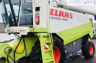 Комбайн зерноуборочный Claas Lexion 480 2003 в Бершади