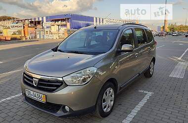 Мінівен Dacia Lodgy 2012 в Коломиї