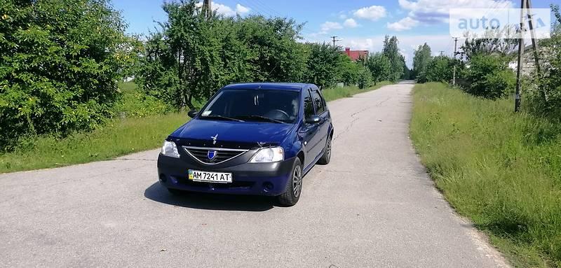 Dacia Logan 2008 года в Житомире