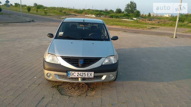 Dacia Logan 2005 года в Львове