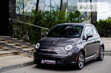 Fiat 500e 2016 в Львове