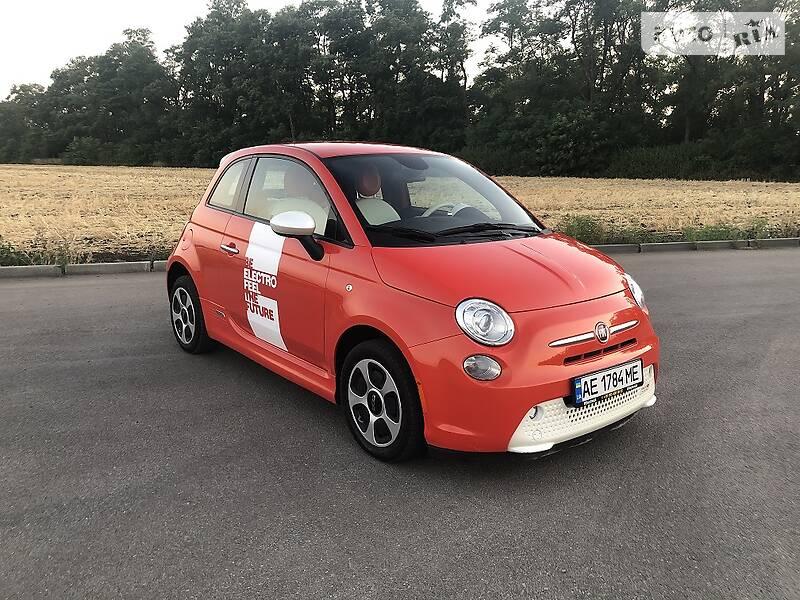 Fiat 500е 2013 в Днепре