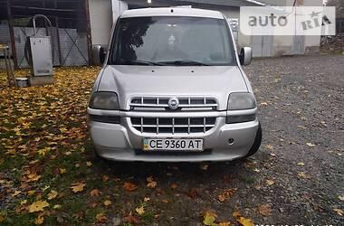 Fiat Doblo груз.-пасс. 2001 в Черновцах