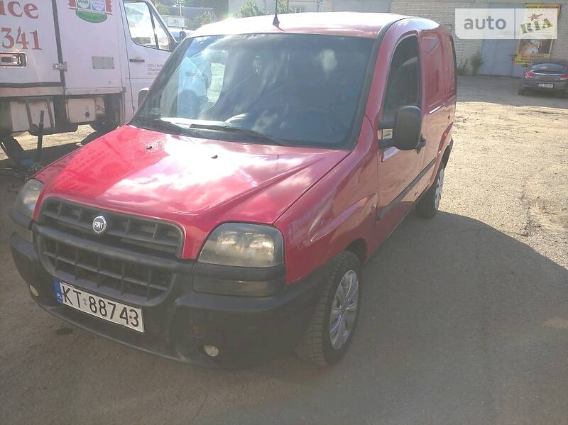 Fiat Doblo груз. 2001 в Луцке