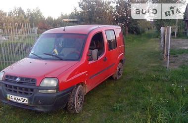 Fiat Doblo пасс. 2001 в Луцке