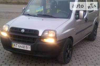 Fiat Doblo пасс. 2002 в Коломые