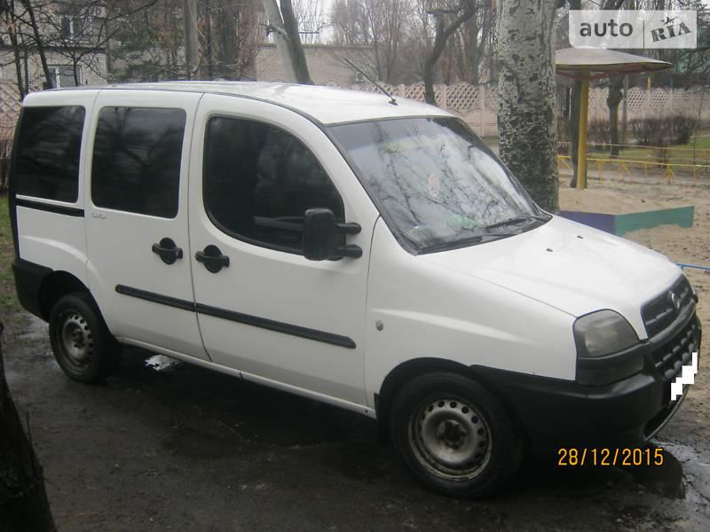 Fiat Doblo пасс. 2003 в Горишних Плавнях