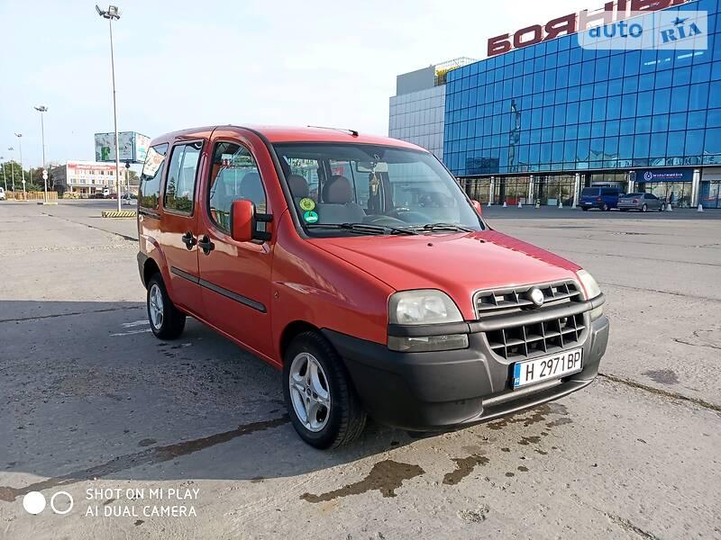 Fiat Doblo пасс. 2001 в Черновцах