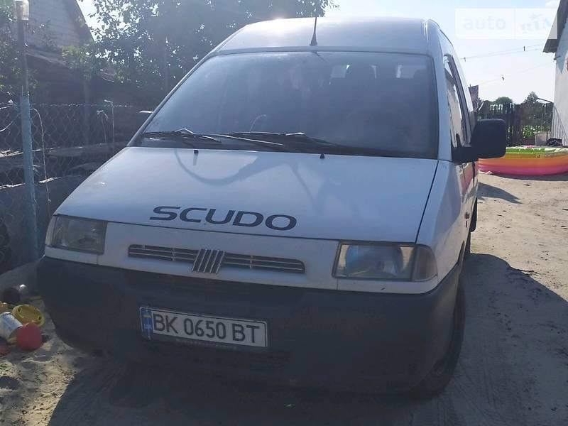 Fiat Scudo груз.-пасс. 1999 року в Рівне