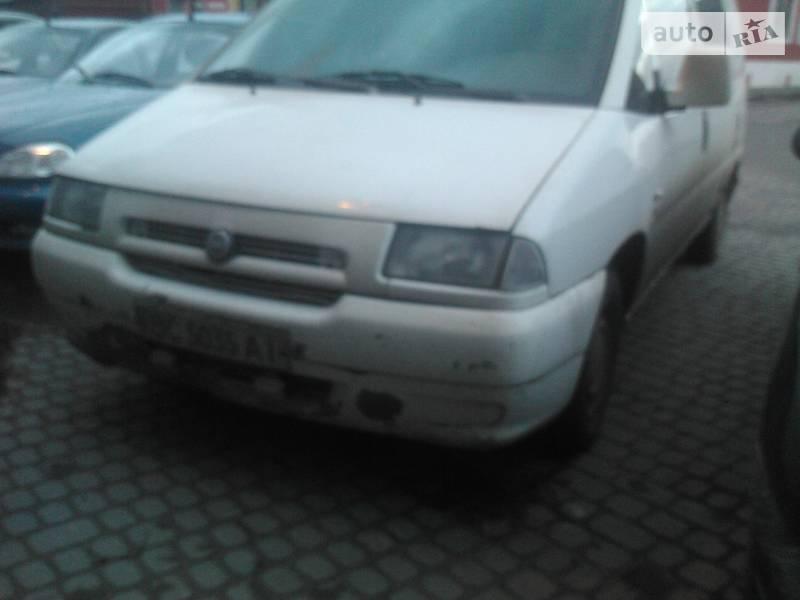 Fiat Scudo груз. 2002 в Львове