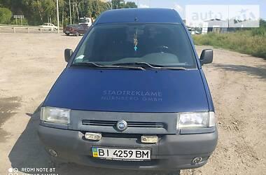 Легковой фургон (до 1,5 т) Fiat Scudo пасс. 2002 в Полтаве